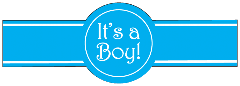 Standard Its a Boy Template