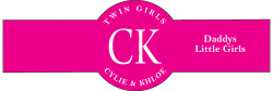 Baby Twins Cigar Band Template 02 Girls