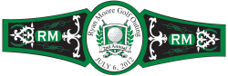 Golf Cigar Band Template 06