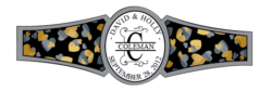 Wedding Cigar Band Template 42