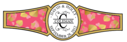 Wedding Cigar Band Template 45