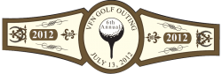 Golf Cigar Band Template 01