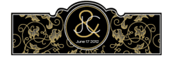 Wedding Cigar Band Template 35