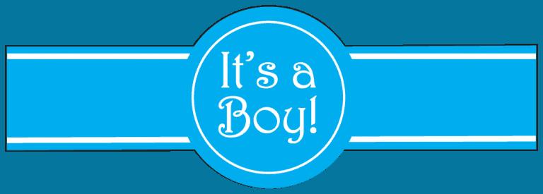 Standard Its a Boy Template