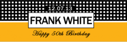 Birthday Cigar Band Template 35